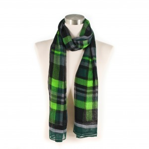Dragon Plaid scarf