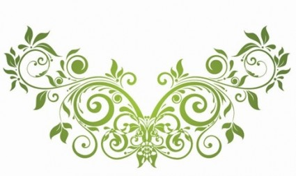 vector_swirl_floral_design_element_147864
